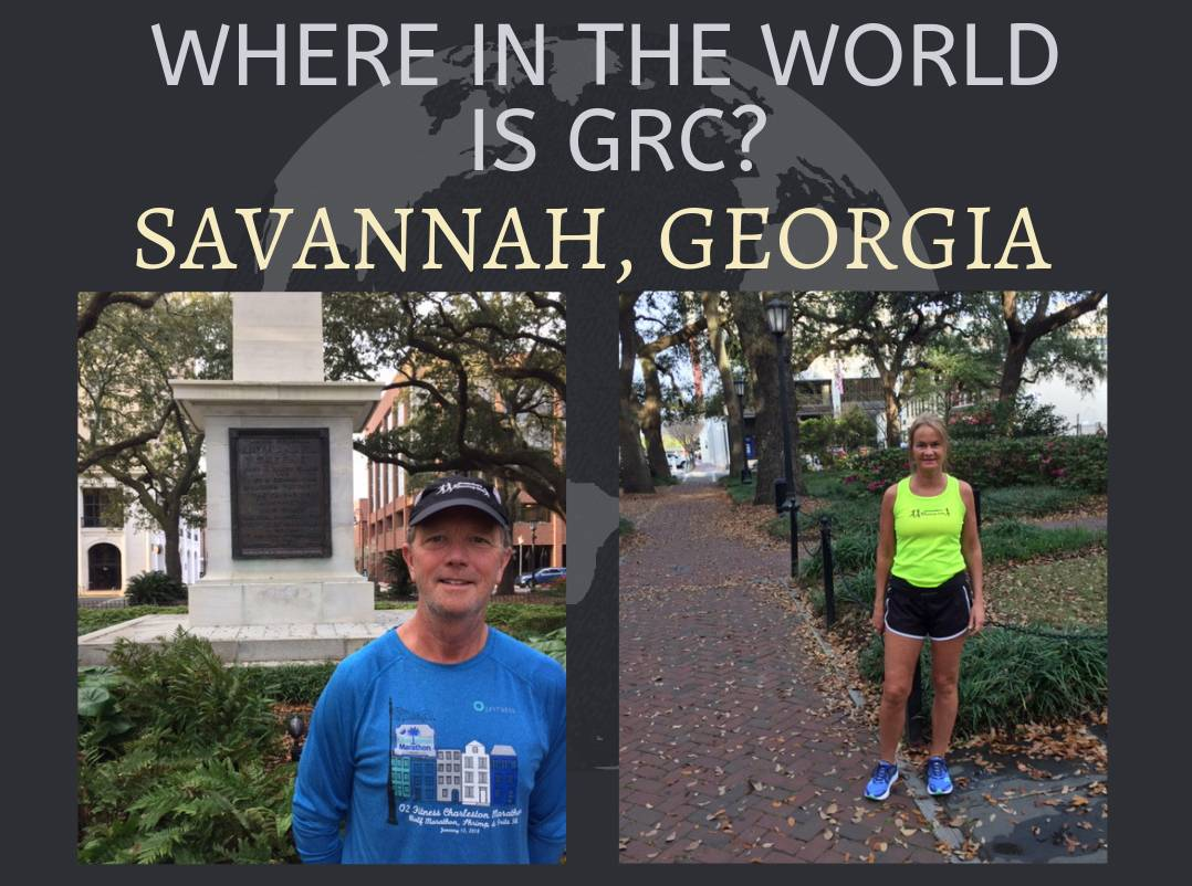 Where in the World is GRC? Savannah, Georgia