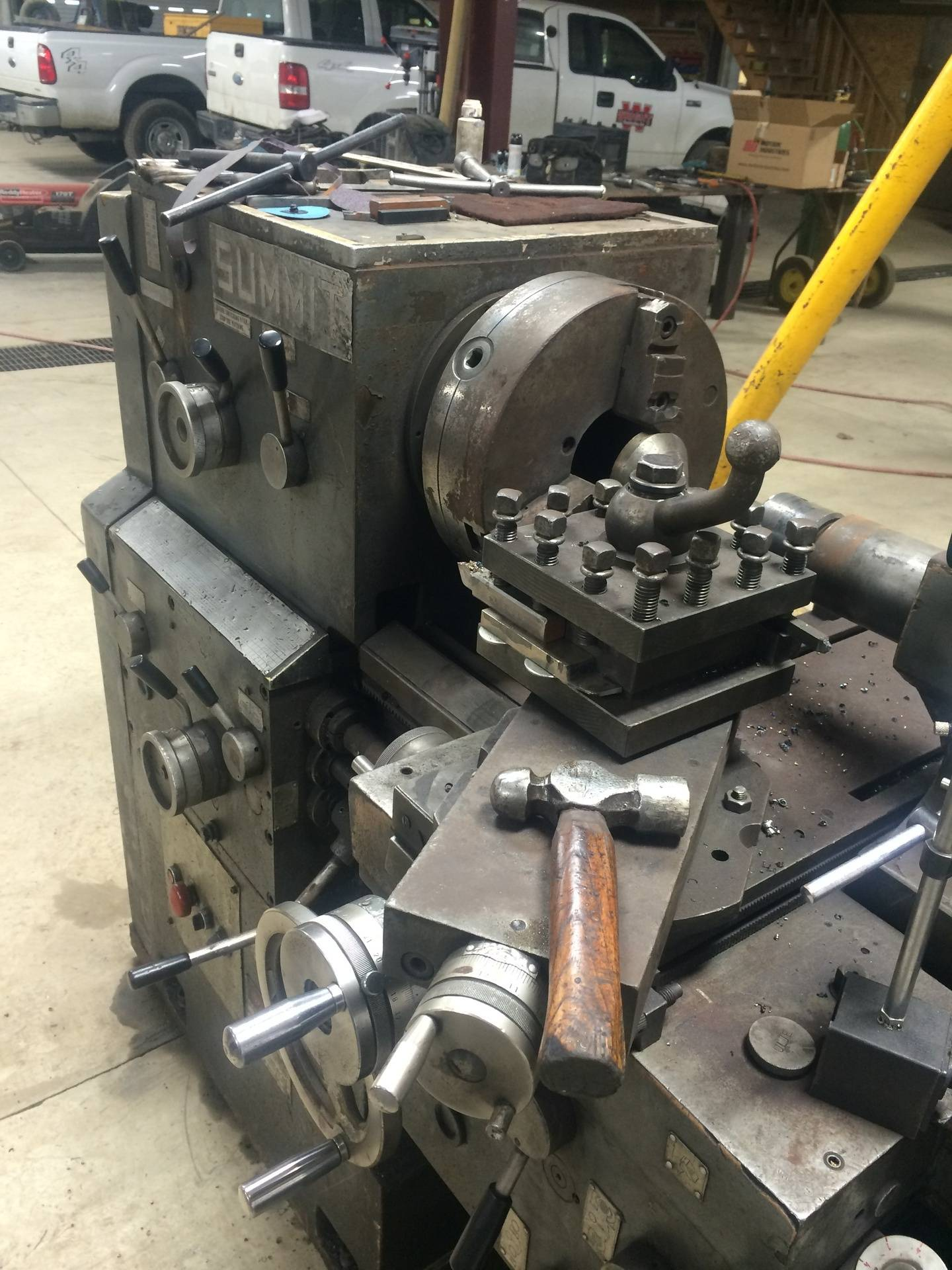 "Shop Tooling-20"" Lathe"