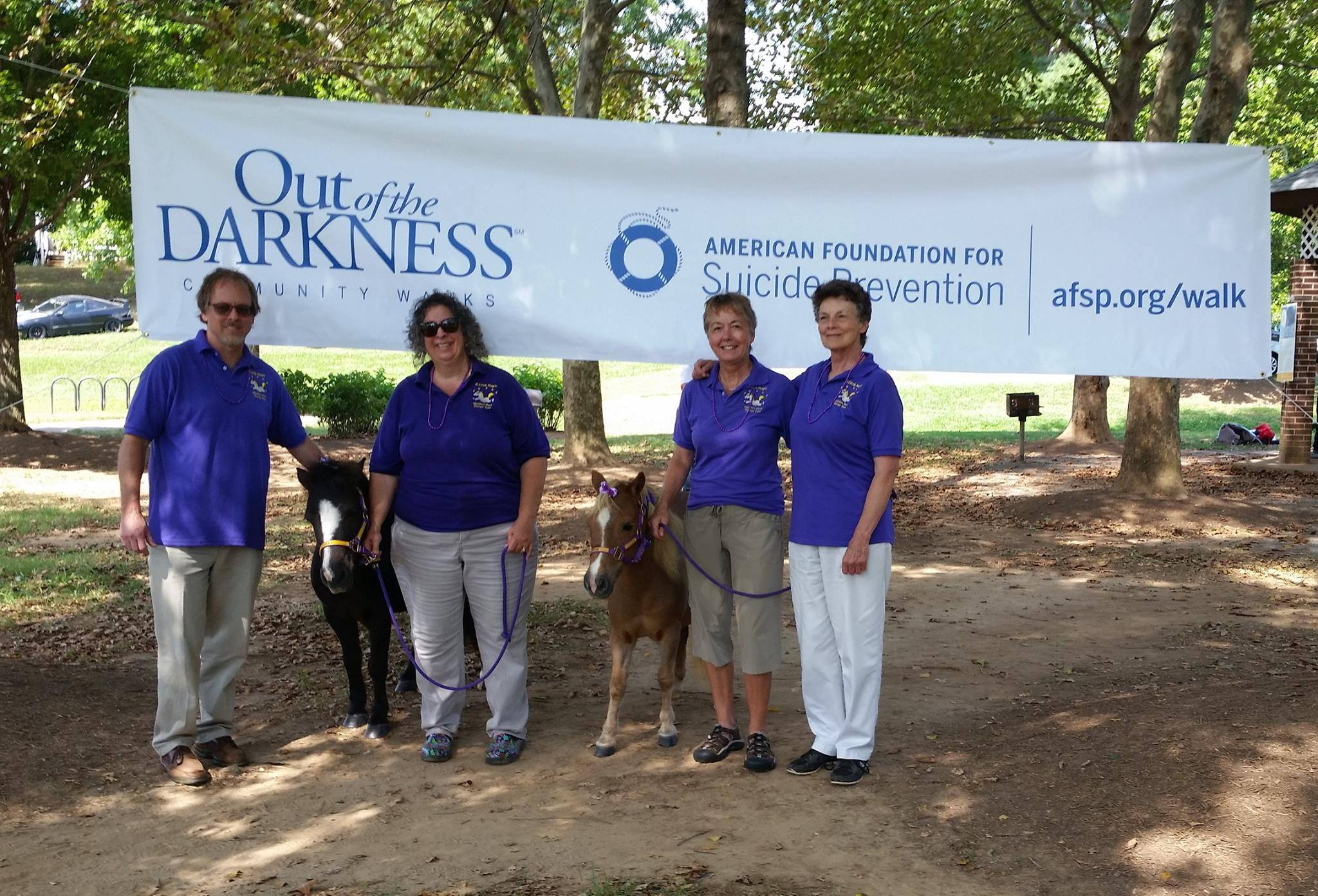 Out of the Darkness - Suicide Prevention Walk