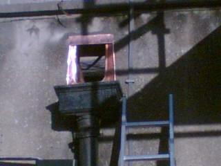 Copper dressing outlet