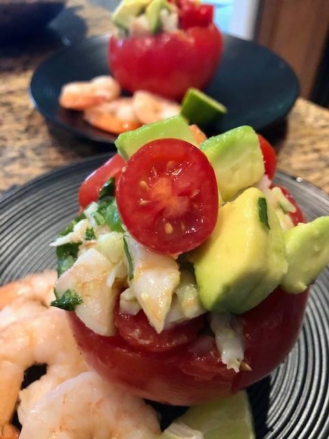Fresh Shrimp Avocado Salad