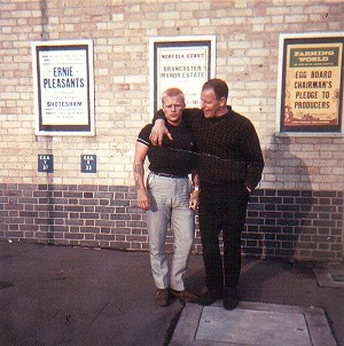 Adrian Street and Johnny Yearsley