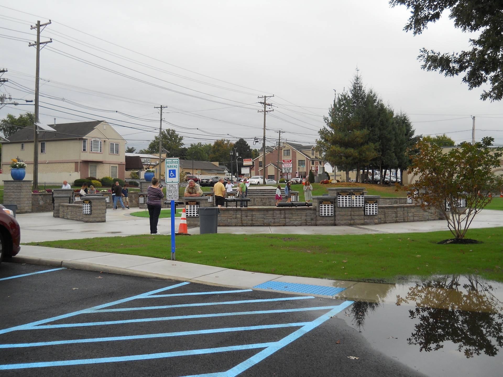 Citizens Appreciation Park Ceremony