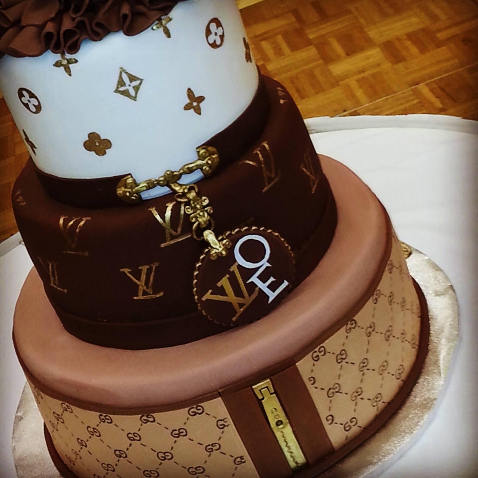 Louis Vuitton Cake