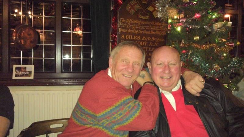 Frank Rimer and Mel Stuart