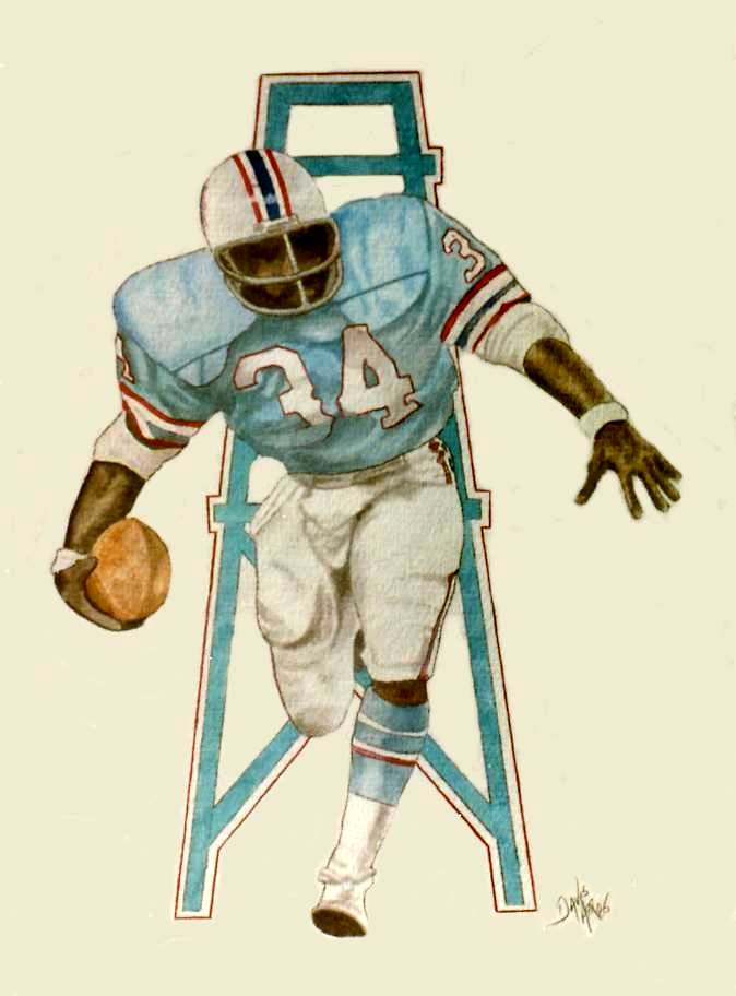 Earl Campbell, Houston Oilers