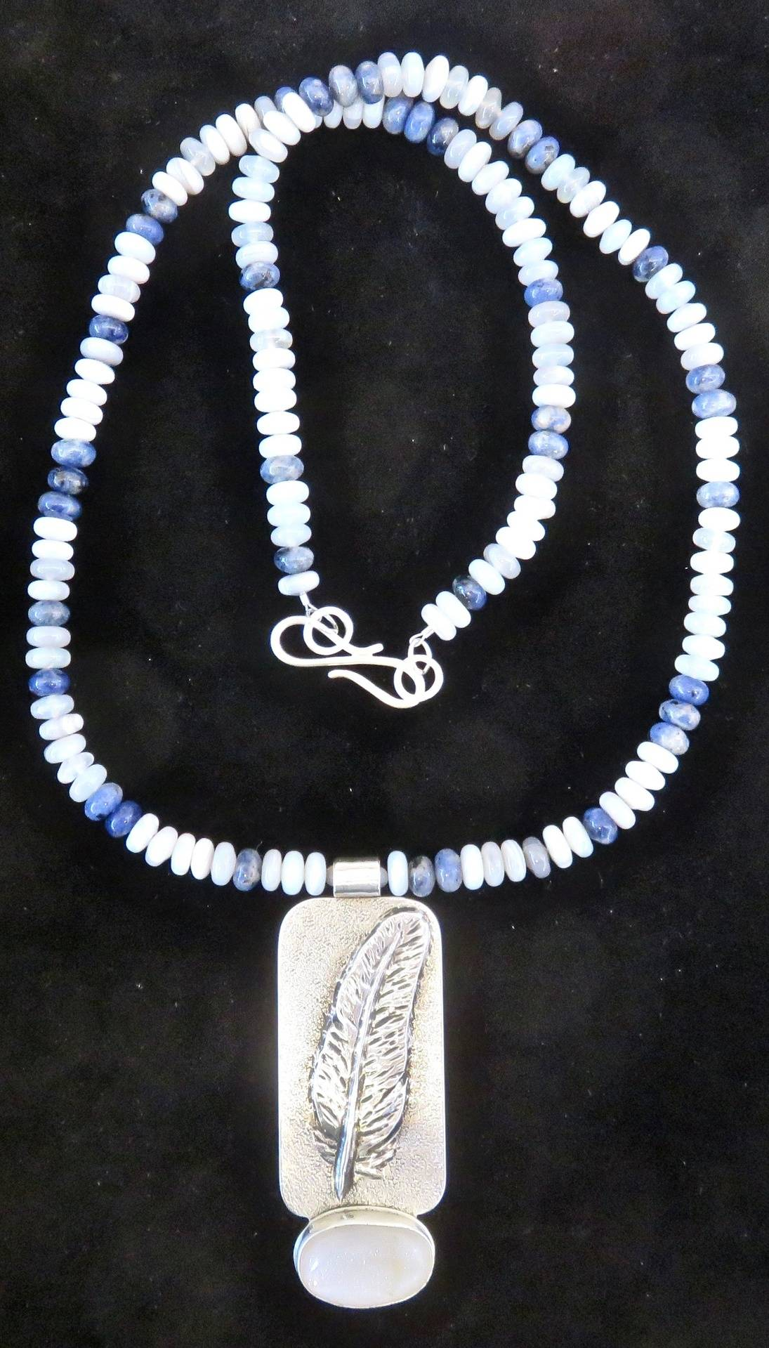 Snow Feather Necklace