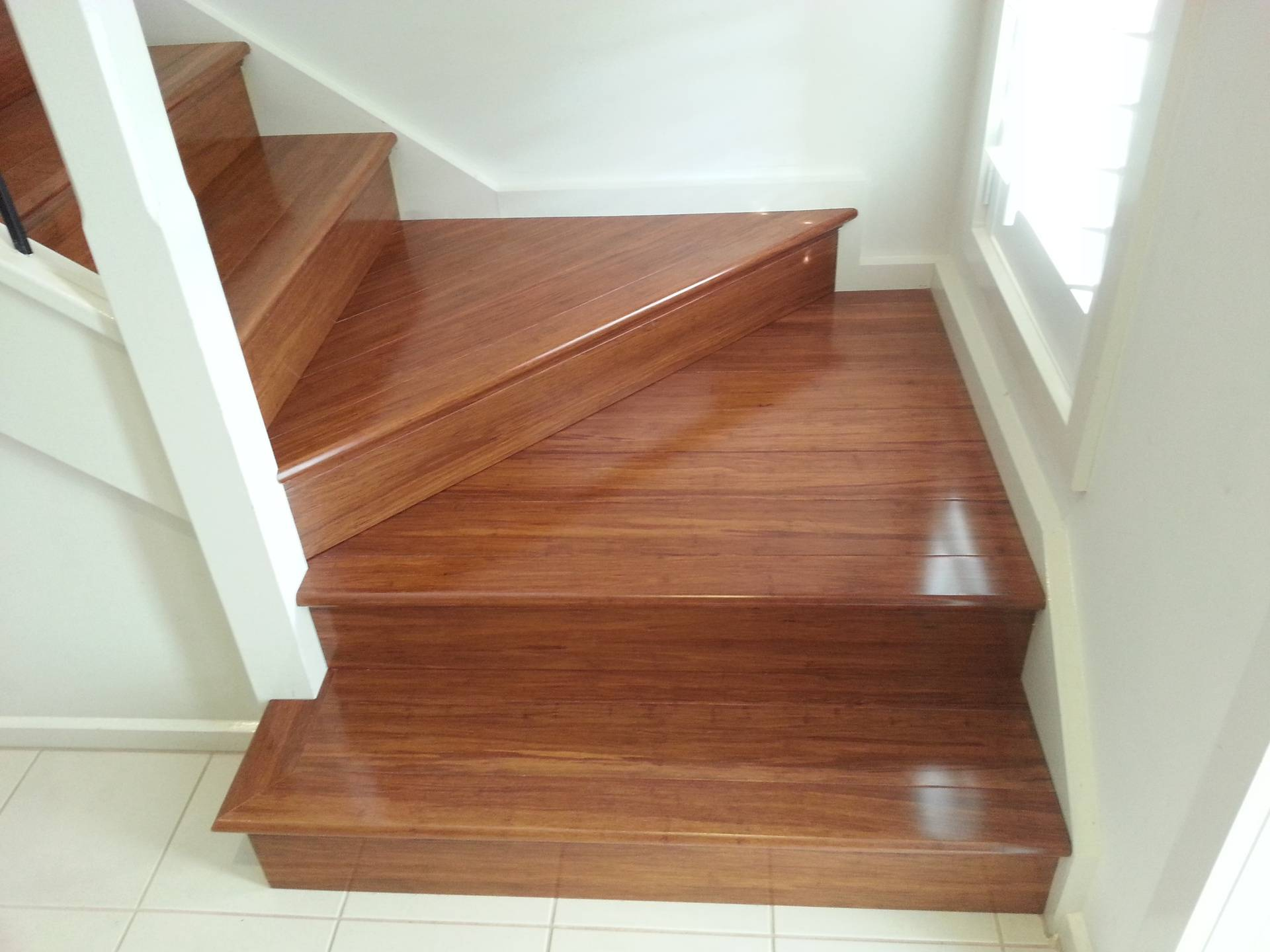 Stairs to hallway-Transformed