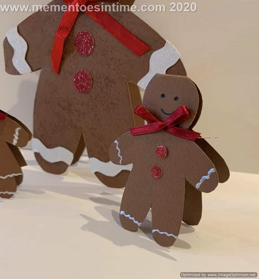 Gingerbread People Template2