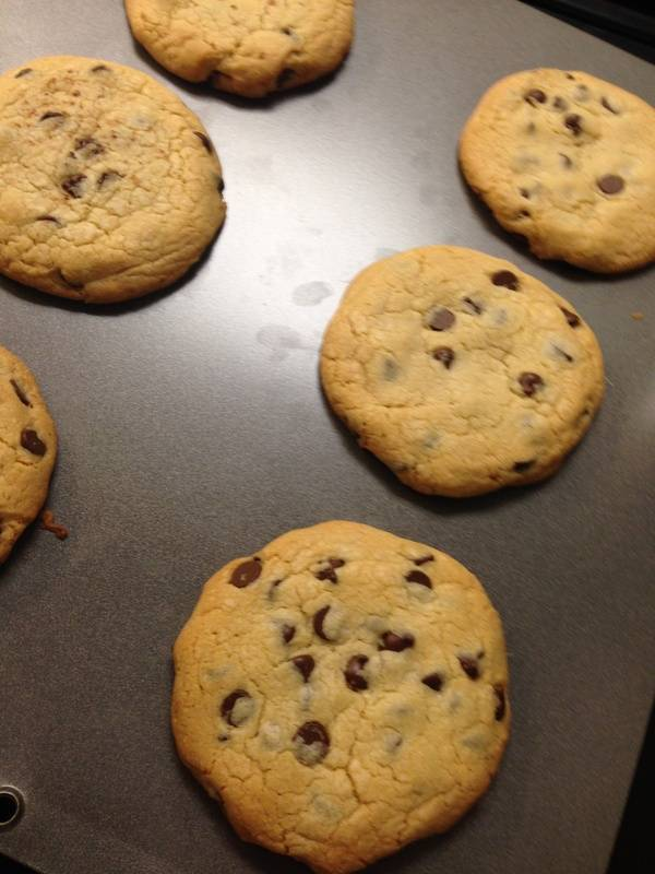 Soft bake Chcolate Chip Cookies