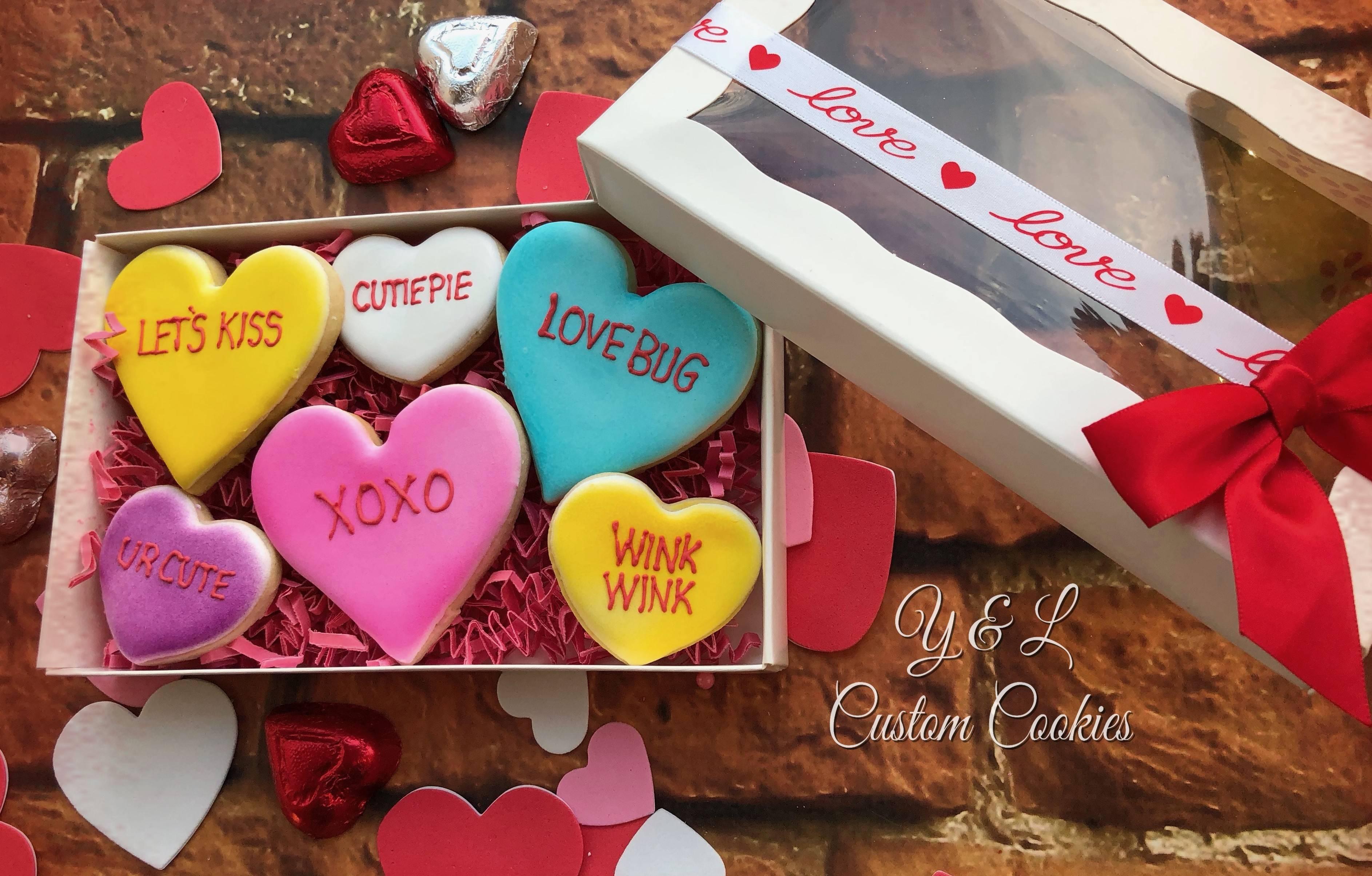 Valentine's Day Custom Cookies