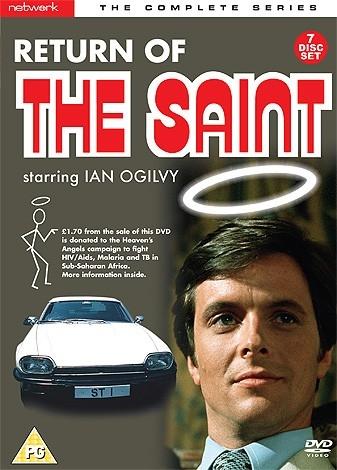 The Return of the Saint - Complete Series DVD Set (UK reg. 2 release)