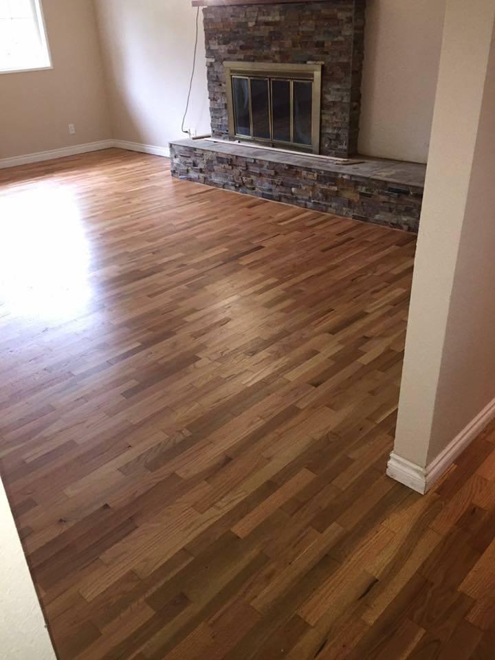 Refinished Hardwoods