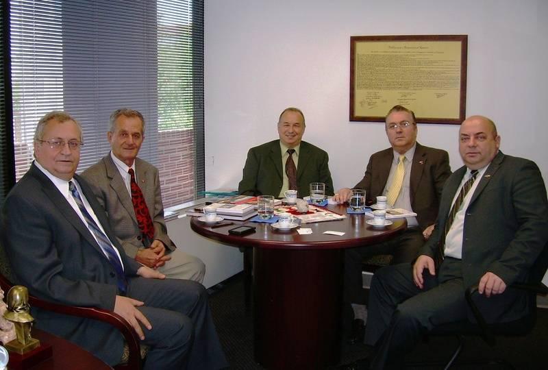 Ambasadori Avni Spahiu, Lirim Mezini, Grigor Nosi, Mustafa Xhepa dhe zv. Ambasadori Jetish Jashari