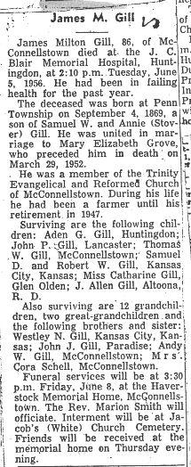 Gill, James Milton 1956