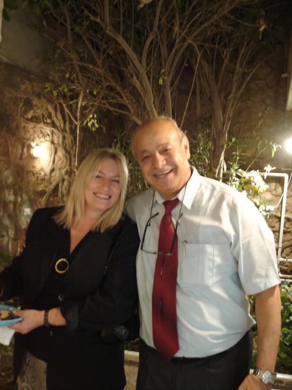 Hassan Khalil and Shirin el Safy