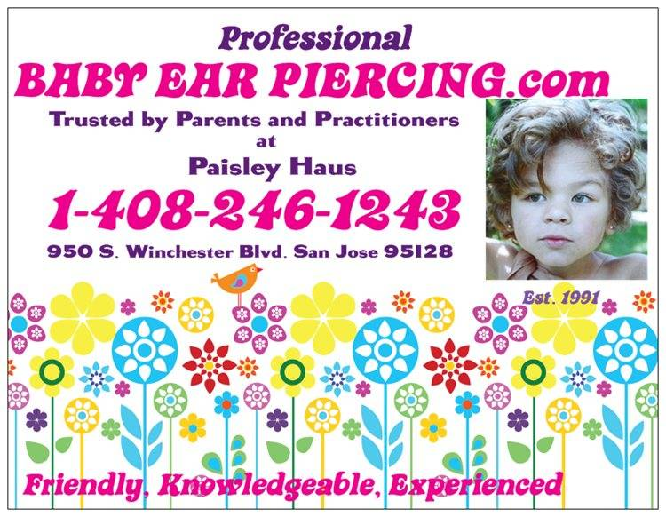 Professional Baby Ear Piercing