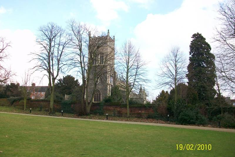 St. Margaret's from Christchurch Park