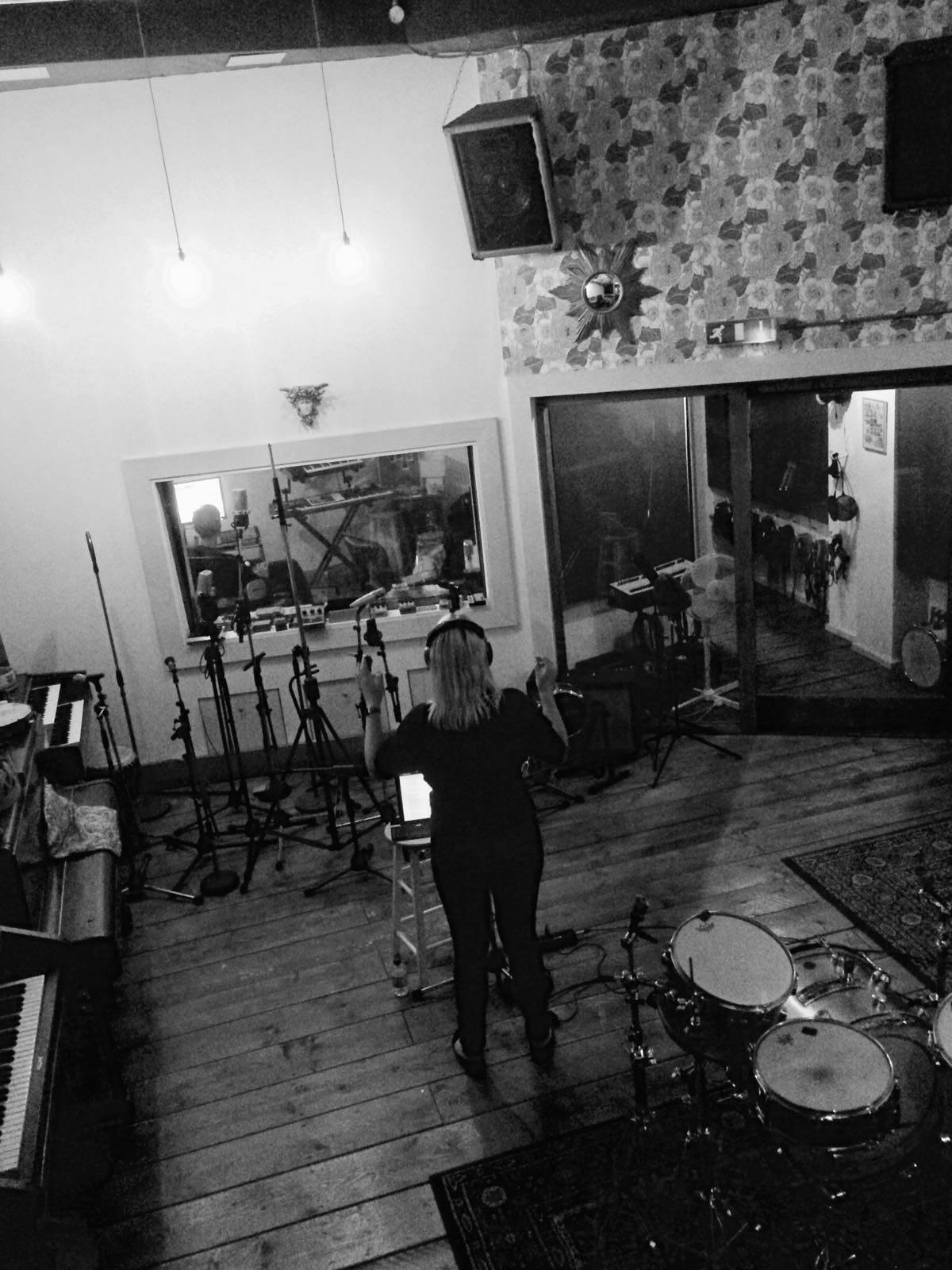 Singing at Urchin Studios London