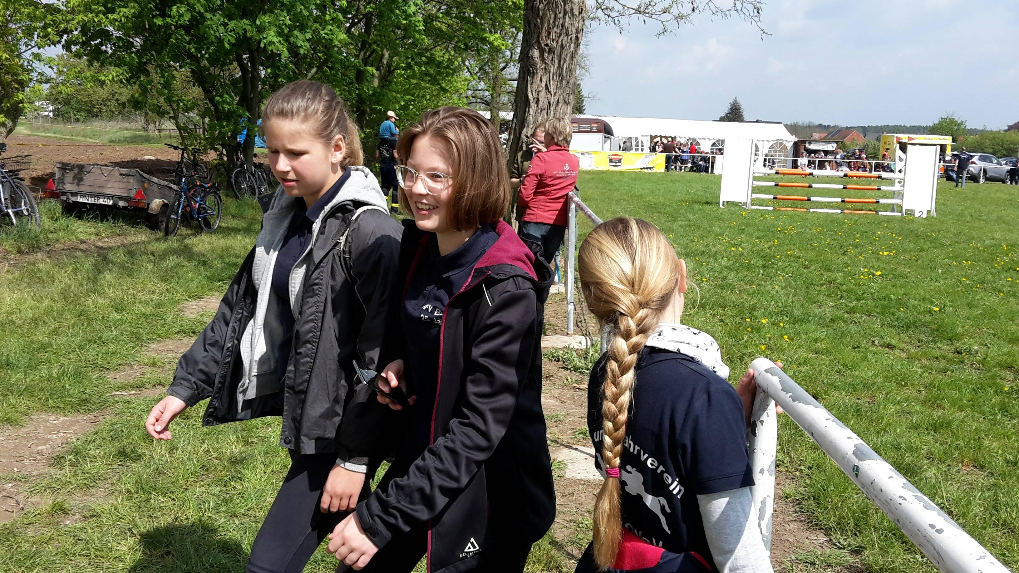 Svenja, Meike und Jette