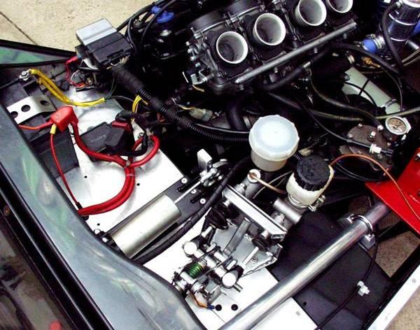 Max  electric gear selector actuator