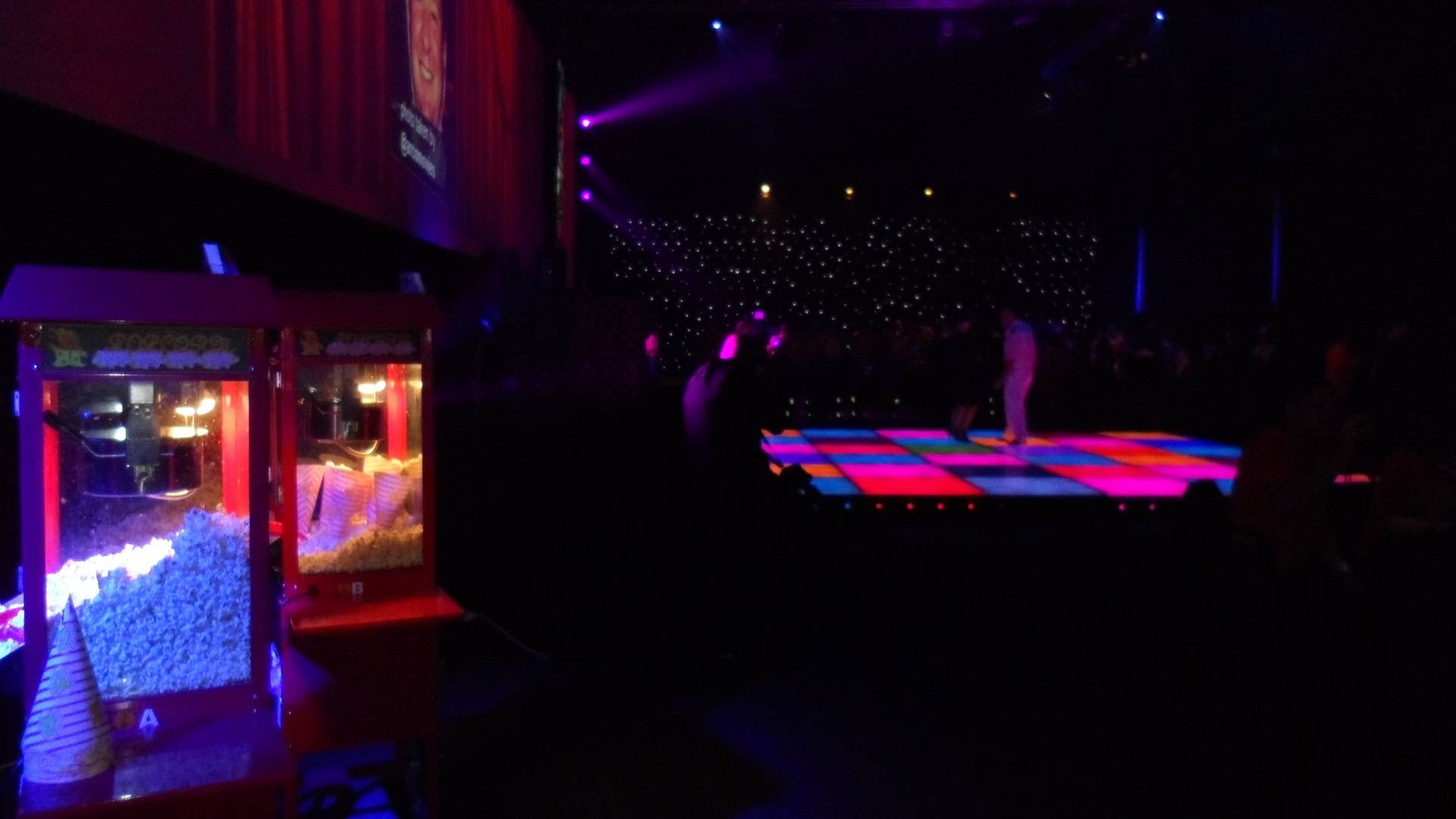 Disco at the Magna with a Popcorn Machine Hire