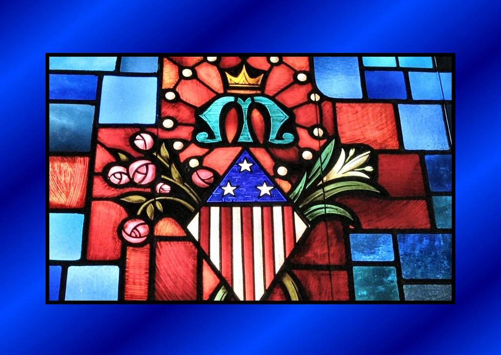 Saint Mary's Church Window