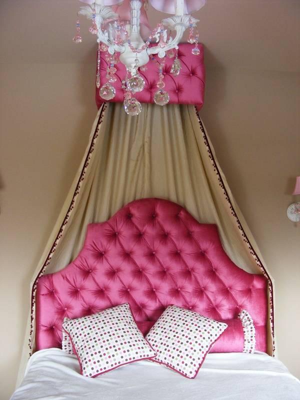 Princess headdoard and valance box