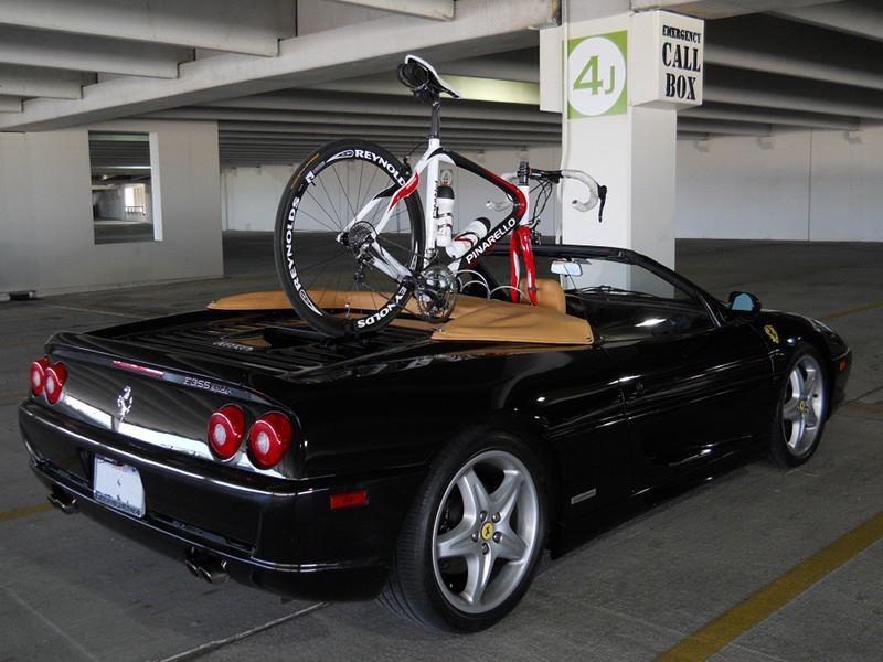 ideaal om de fiets mee te nemen