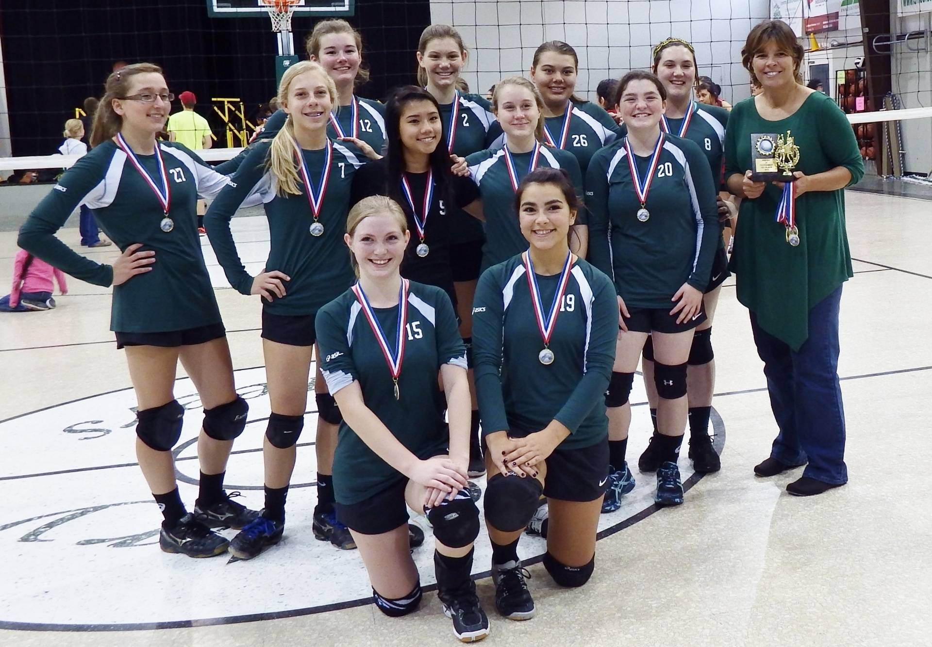 JV Volleyball Tourney Champs