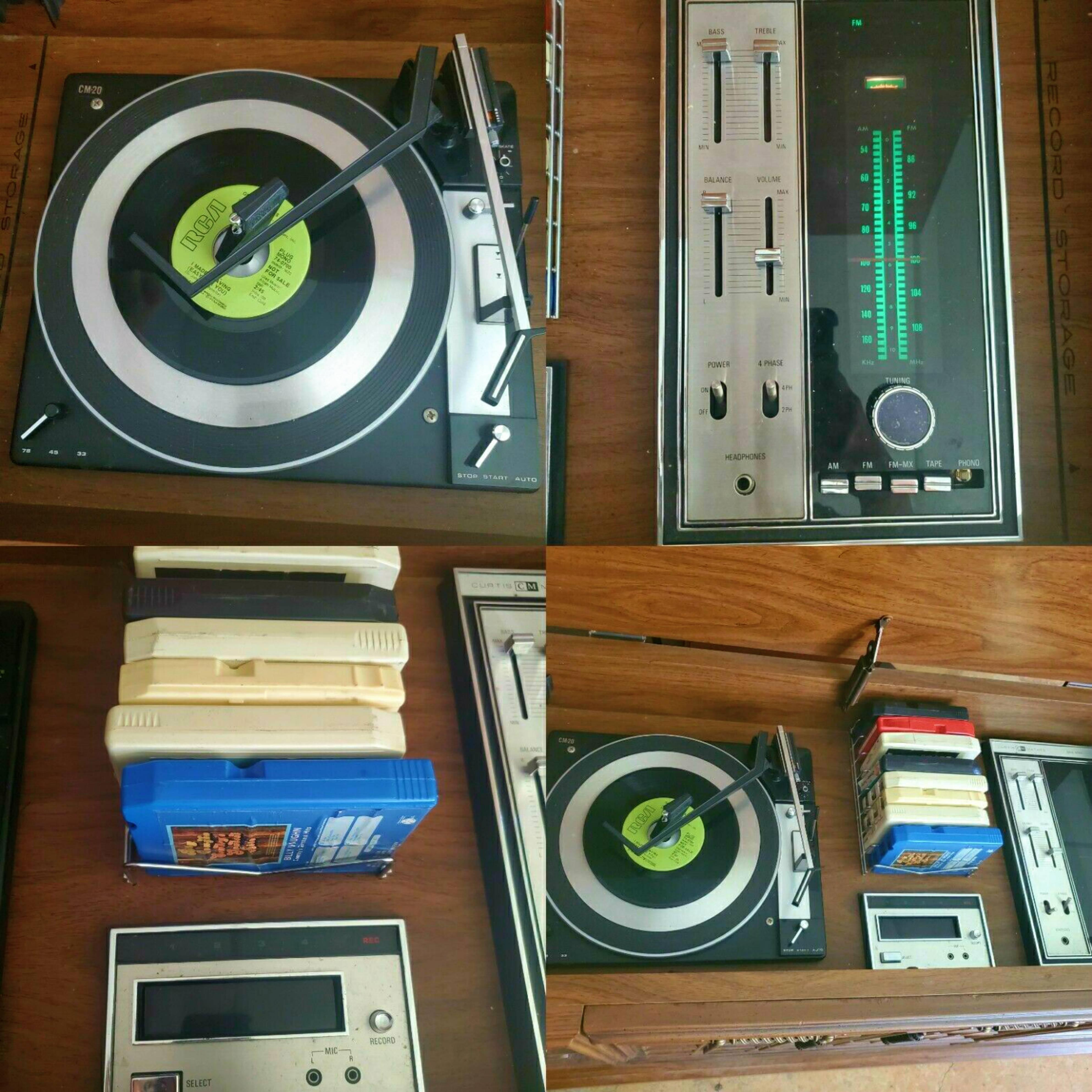 1968 Curtis Mathes Entertainment Console