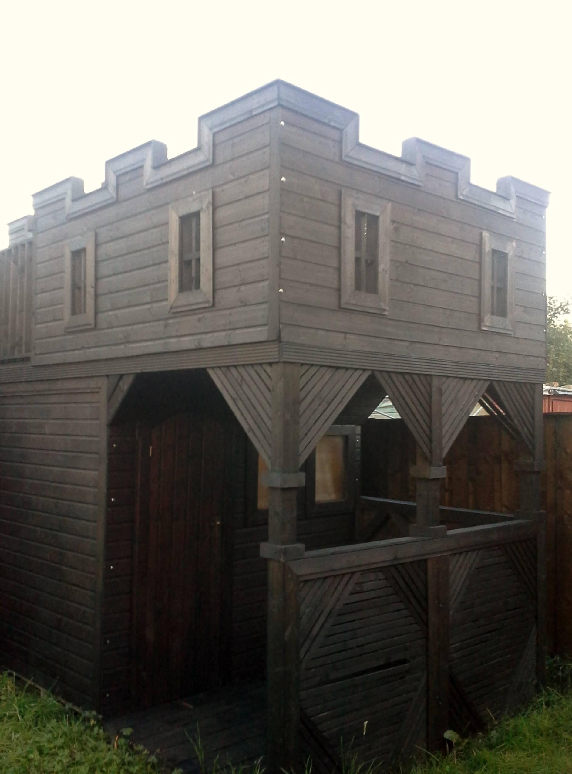 Wooden Castle | Shed