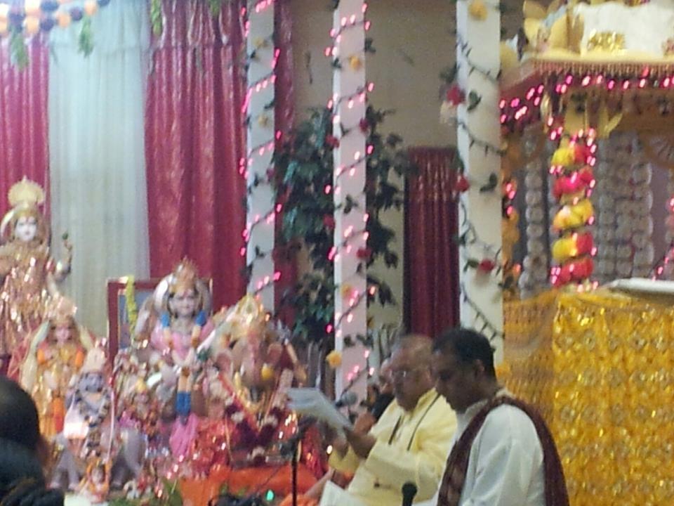 Pandit Mahesh Tiwari and Pandit Brahm Misir