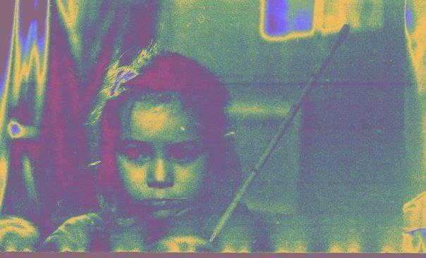 Dunja Lavrova aged 6