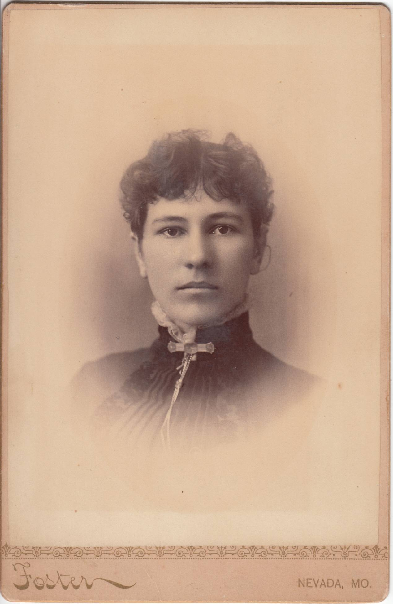 C. E. Foster, photographer of Nevada, Missouri