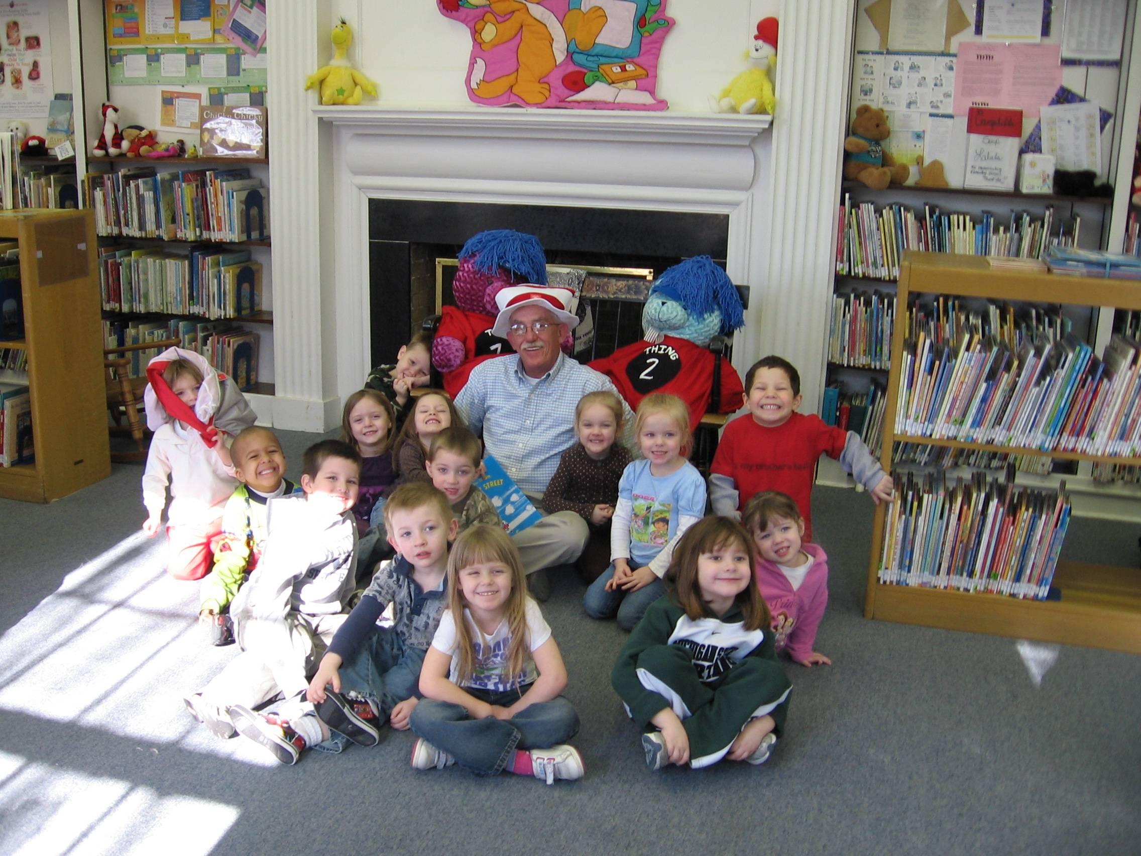 Mechanicsburg Public Library Seuss-a-Thon