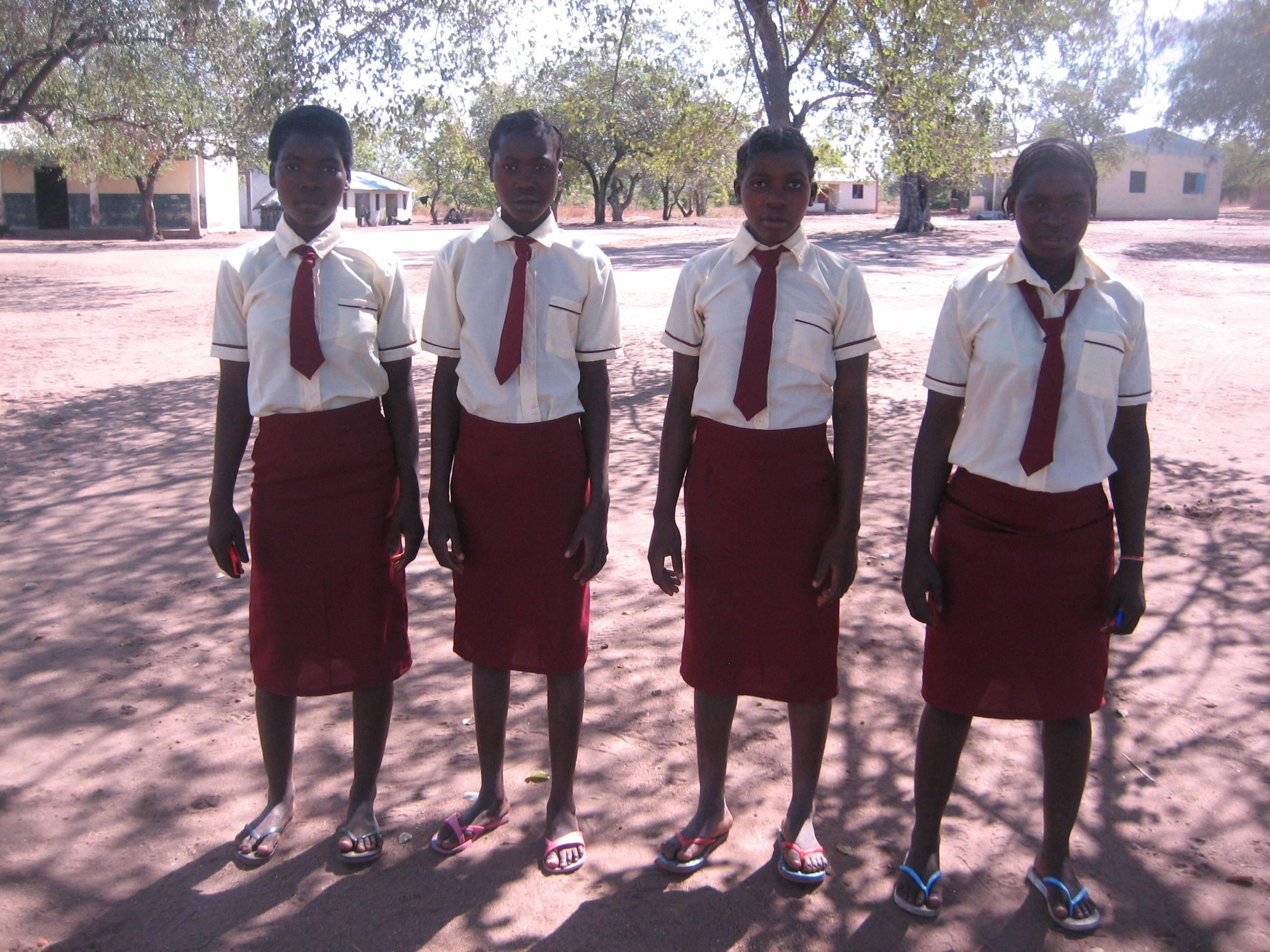 Grade 8 girls can go to school in Kapasseni village!