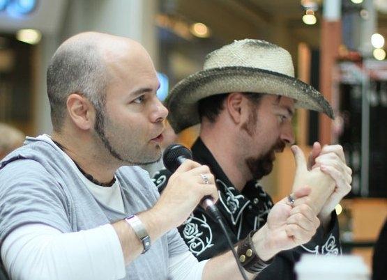 Judging at Bay Centre, September 2011