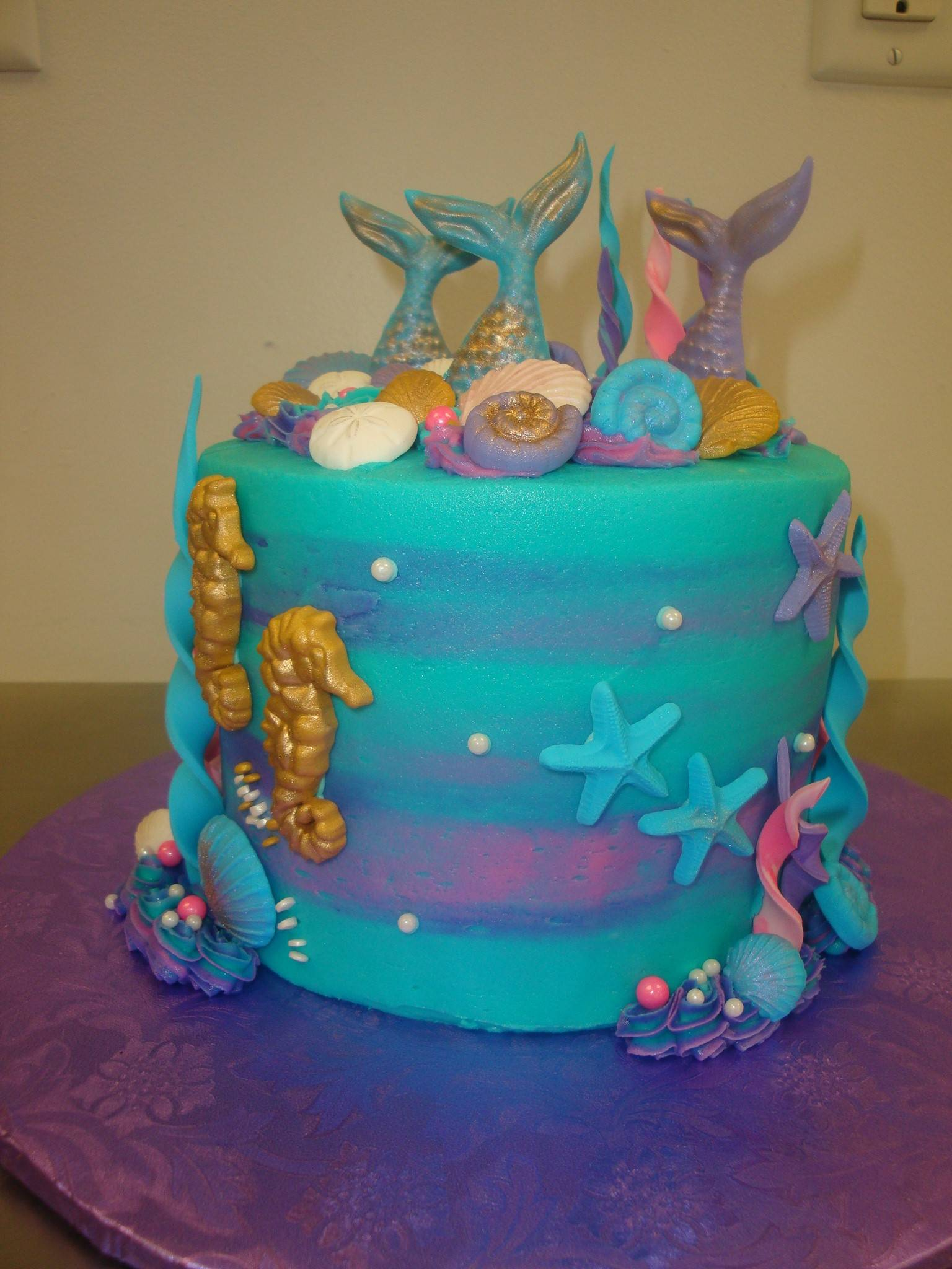 6 inch mermaid tail and friends $85