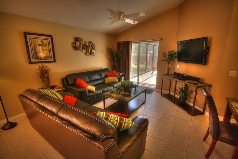 Living room (Big screen TV + DVD)