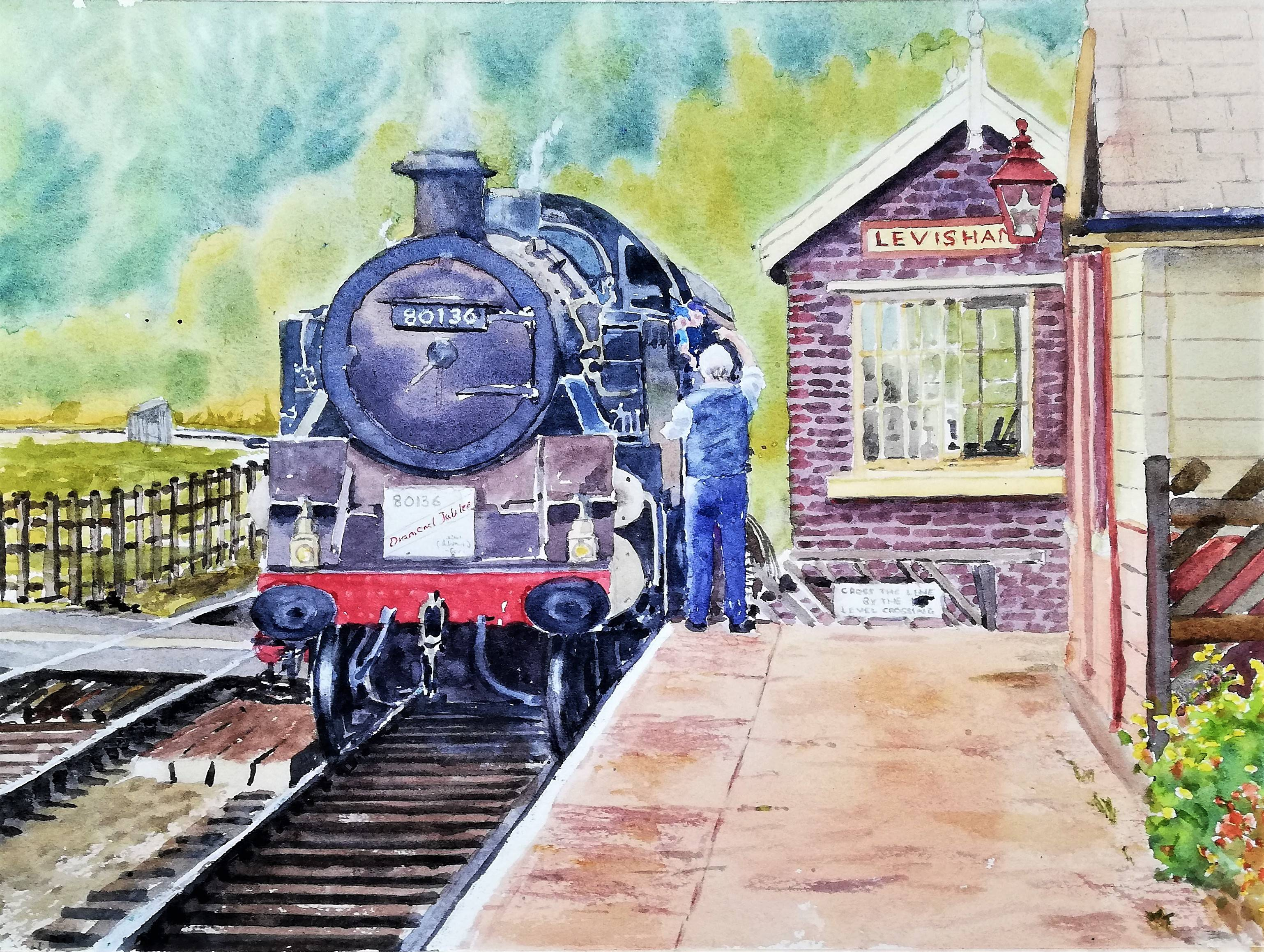 On the North Yorkshire Railway