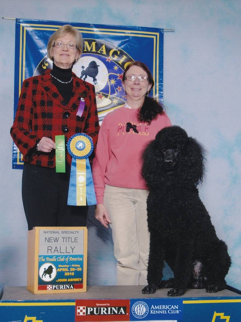 Maxwell with new RE title at PCA National Specialty.  4/27/10.