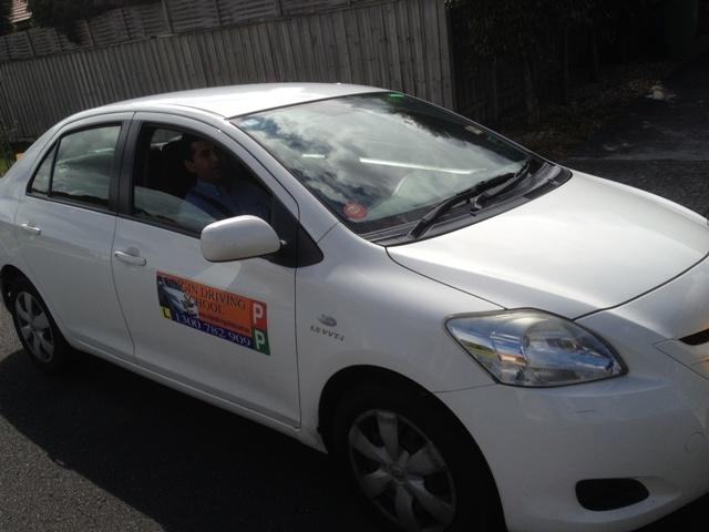 Driving School Endeavour Hills -Toyota Yaris - Manual Transmission