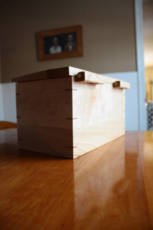 Small Box with Tray