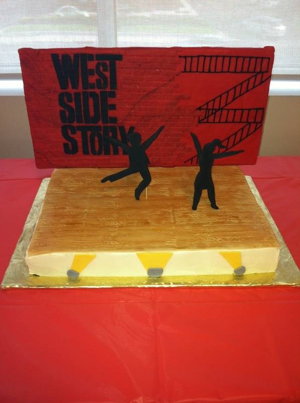 West Side Story Cast Party Cake