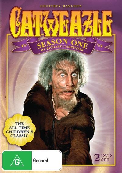 Catweazle - Complete Series One DVD Set (Australia reg. 4 release)