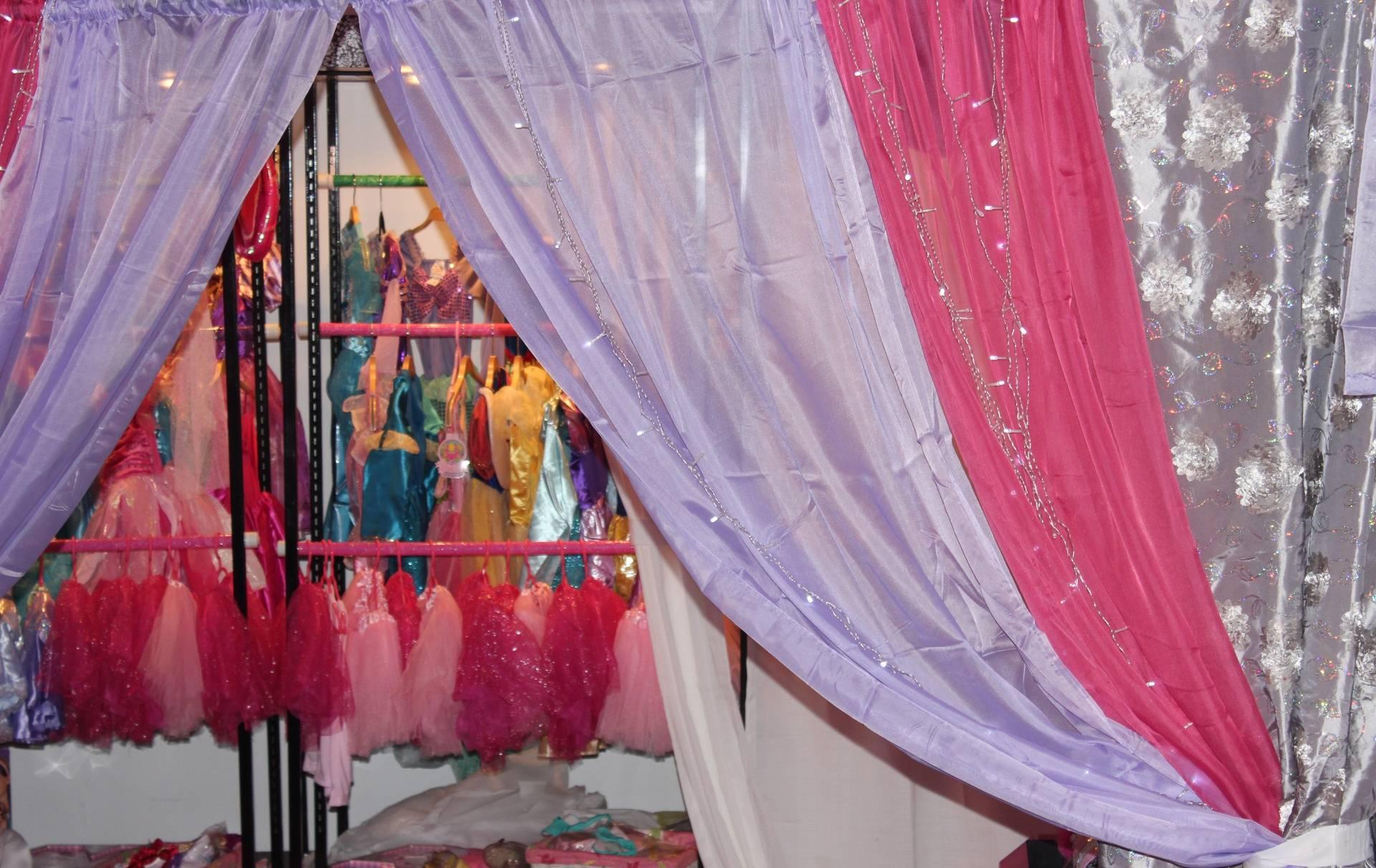 Princess dress up closet