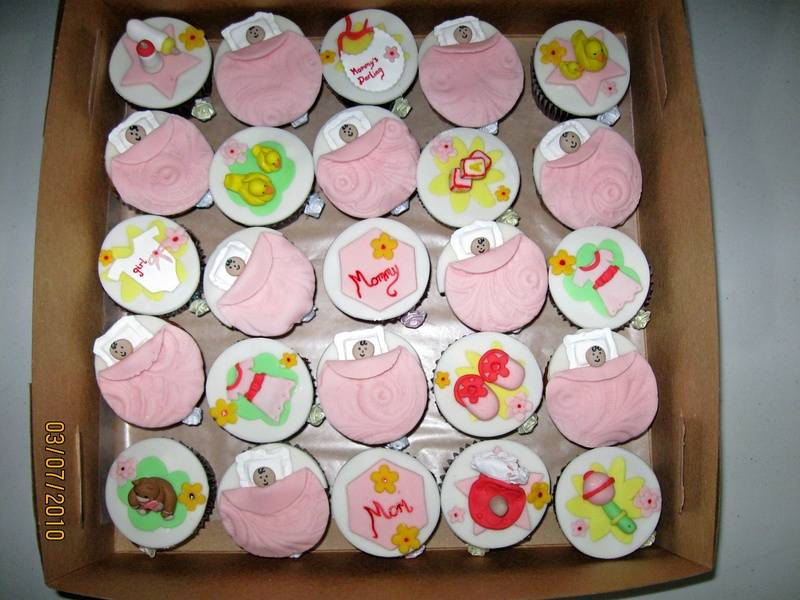 CC9 -Baby Shower Cupcakes