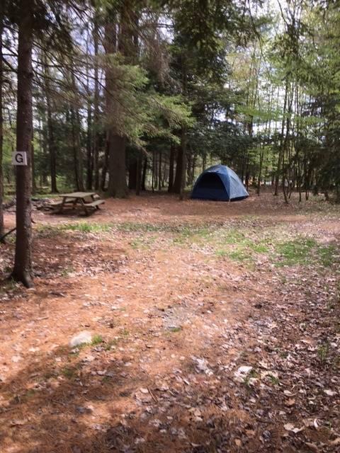 "tent site ""G"""