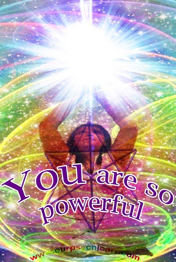 YOU are so powerful